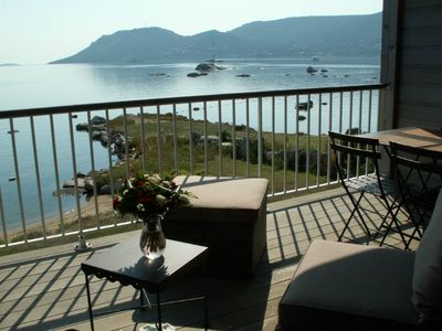Photo for SUPERB WATERFRONT with sea view over the Gulf of Porto-Vecchio and access to a private beach