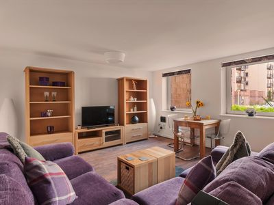 Photo for Stunning 3 bedroom Ground Floor with private parking close to Murrayfield