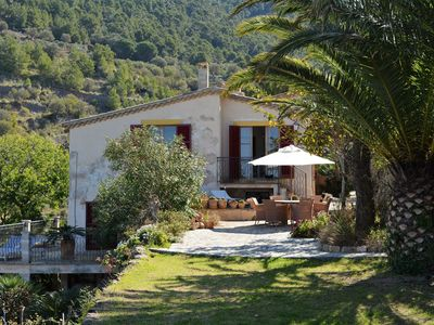 Photo for Pure relaxation in an authentic Majorcan farmhouse with sea-views