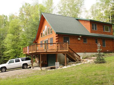 Photo for LAKE GEORGE CUSTOM BUILT LOG CABIN