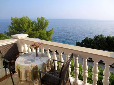 Photo for Apartment Borovina (KOR204) in Korcula/Korcula - 3 persons, 1 bedrooms
