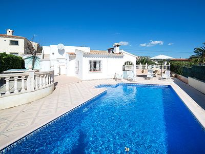 Photo for Vacation home Cleo  in Calpe/ Calp, Costa Blanca - 7 persons, 4 bedrooms