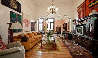 Photo for Affordable Luxury in Midtown with 2 bdr/3baths and Central Patio with Parrilla