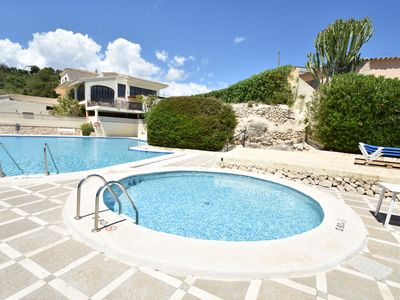 Photo for Semi-detached Villa with beautiful view terrace and communal pool