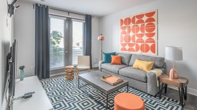 Photo for Luxe 1BR Apt with Heated Pool by WanderJaunt