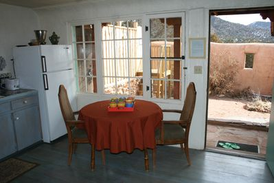 Kitchen and courtyard