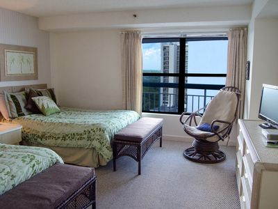 Photo for Spacious Ocean View 3 Bedroom w/ Balcony + Official On-Site Rental Privileges