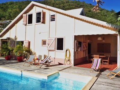 Photo for Comfortable and spacious Creole villa close to the Diamant beach