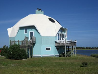 Photo for Dome Home on Intercoastal Waterway
