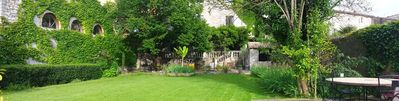 Photo for Charming house with garden and private access to the Hérault river