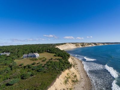Photo for Commanding Views of Chilmark's South Shore and Private Beach Access