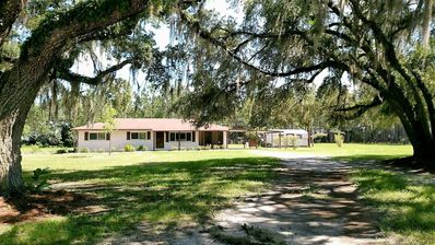 Photo for Suwannee Cottage - 11 Acres Of Quiet!!