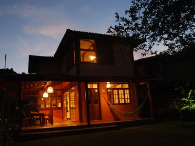 Photo for House Ilhabela - Cozy. Air conditioning, stainless steel barbecue.
