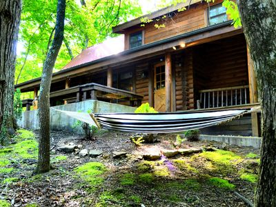 Photo for Spectacular Voice Controlled, Authentic Log Cabin! Three Bears is extraordinary
