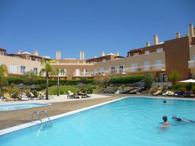 Photo for Apartment on the first floor with terrace view to the lovely swimmingpool