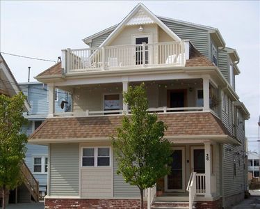 Welcome to Our vacation Home about a block to the Beach and start of Boardwalk