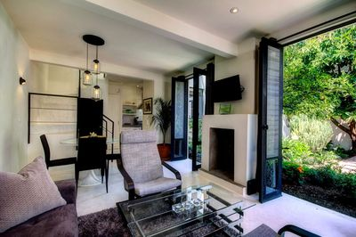 Stylish home, great attention to detail, open concept, opens to the garden.