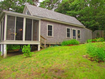 Photo for **In-Town**WALK TO EVERYTHING!!**PETS WELCOME!* Adorable Home-Screened Porch