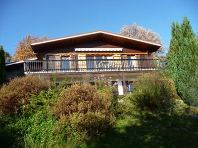 Photo for BEAUTIFUL CHALET. SUPERB VIEWS OF GERARDMER, LAKE AND MOUNTAINS