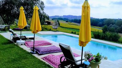 Photo for Country House Villa in panoramic position with Pool & Whirlpool & WLAN