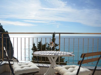 Photo for Apartment with wonderful sea view