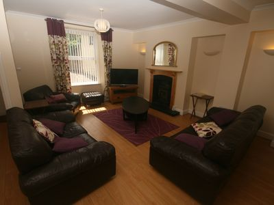 Photo for Spacious 4 bedroom holiday home in Central Laugharne, SW Wales
