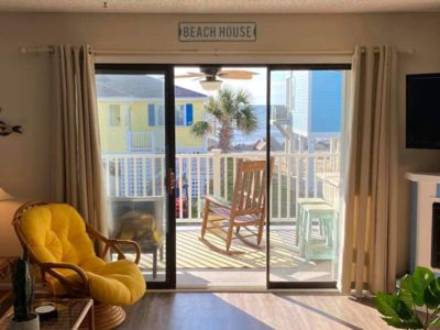 Photo for Gorgeous Ocean Views! Linens provided. Wi-Fi. 2 Beds, 2 Baths. Covered balcony.
