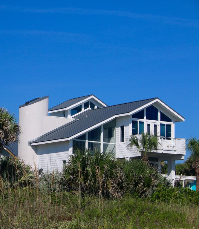 New Smyrna Beach House Al Direct Oceanfront On Beautiful 1 Mile South