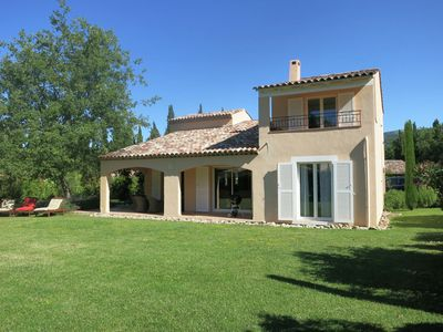 Photo for Very stylish villa near St. Cézaire-sur-Siagne on a property with swimming pool