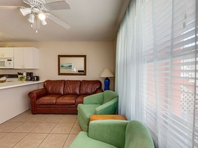 Photo for 104 Tropical Isle: Super Cute, Great Rates- Steps fm Beautiful Gulf of Mexico