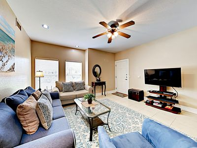 Photo for New Listing! Condo w/ Pools & Hot Tub - 10-Minute Drive to Beach!