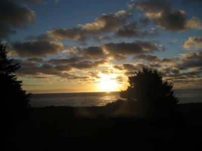 Sunrise from Cottage and Deck