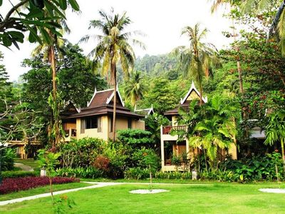 Photo for Near the beach in koh chang, superior garden with Twin
