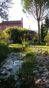 Photo for Discount renovated a lot of charm, bucolic garden located at the foot of Luberon