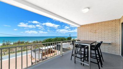 Photo for SPACIOUS BEACHFRONT UNIT WITH INCREDIBLE VIEWS
