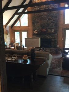 Photo for Romantic mountain hideaway.  Minutes to downtown Dahlonega, wineries & hiking.