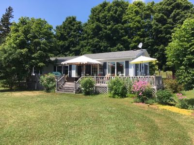 Photo for Tranquil riverfront cottage for rent