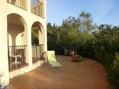 Photo for Banyuls Nice quiet apartment