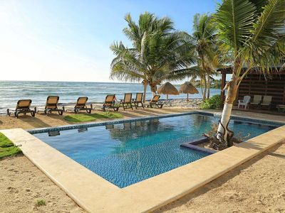 Photo for Half Moon Bay Nikte-ha, Luxury Condo ground floor with pool...Unit #1 in Akumal