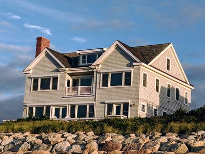 Photo for Luxury Waterfront Home with Private Beach on Cape Cod Bay