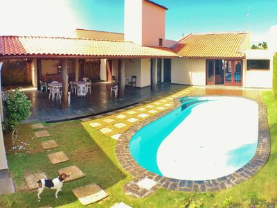 Photo for Beautiful house with 4 suites, pool and barbecue