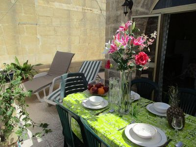 Photo for Holiday Apartment with picturesque sea views in Gozo
