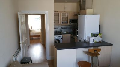 Well equipped open plan kitchen/lounge