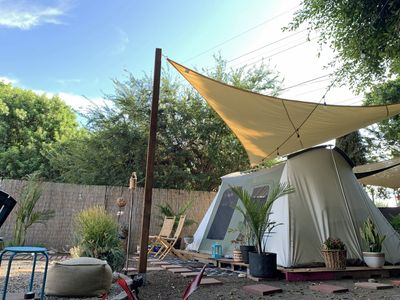 Photo for 420-FRIENDLY Oasis Tent + FREE PARKING + FREE WIFI near Universal Studios.