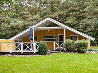 Photo for Charming Holiday Home in Jutland with garden seating in the luxury of nature
