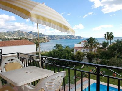 Photo for Nice apartment with sea views, 2 bedrooms