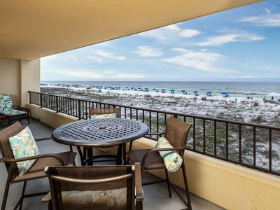Photo for Surf Dweller Unit 212 Newly Remodeled, Gulf Front! Large Unit with direct Gulf views!!