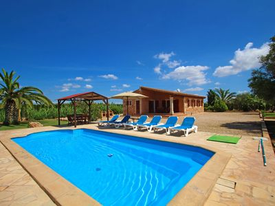 Photo for Finca Can Coll - Big Garden - AirConditioner - Country house for 6 people in Campos
