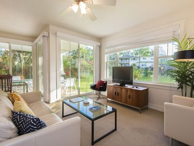 Photo for Gorgeous Modern Private Condo Family Friendly, Great for Couples, optional AC