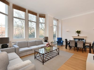 Photo for Amazing Knightsbridge Chelsea 3 Bedroom 2.5 Bathroom Garden View Free WiFi